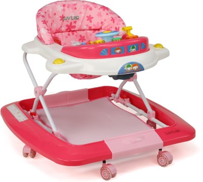 LuvLap Musical Walker & Rocker(Pink)