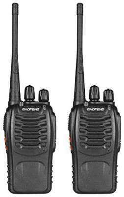 Baofeng BF-888s Walkie Talkie(Black) at flipkart