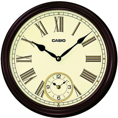 Buy Casio Analog Wall Clock(Brown, With Glass) on Flipkart ...