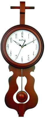 Wood Craft Analog Wall Clock(Metallic, With Glass)  available at flipkart for Rs.1855