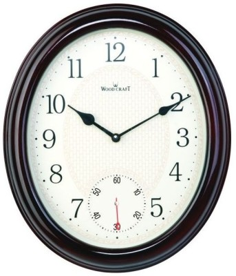 Wood Craft Analog Wall Clock(Rose Wood, With Glass)  available at flipkart for Rs.1980