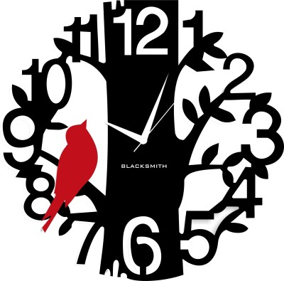 Blacksmith Analog Wall Clock(Black) at flipkart
