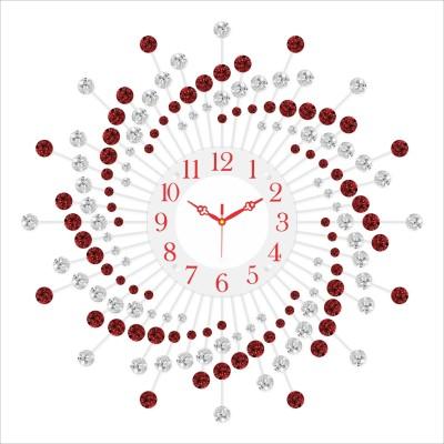 Urban Vibe Analog Wall Clock(Metallic, With Glass) at flipkart