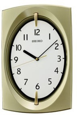 Seiko Analog Wall Clock(Multicolor, With Glass)  available at flipkart for Rs.2699
