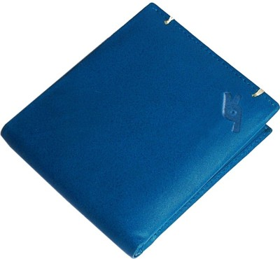 Garri Men Blue Genuine Leather Wallet(8 Card Slots) at flipkart