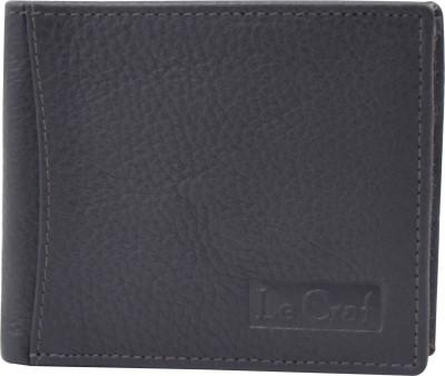 Le Craf Men Multicolor Genuine Leather Wallet 8 Card Slots