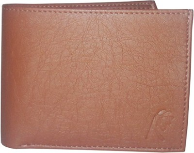 Rosset Men Tan Artificial Leather Wallet 11 Card Slots