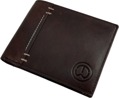 TnW Men Brown Genuine Leather Wallet 4 Card Slots
