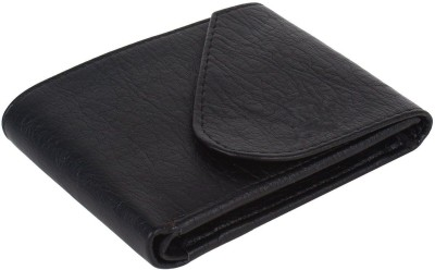 G case Boys Black Artificial Leather Wallet 4 Card Slots