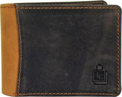 Le Craf Men Multicolor Genuine Leather Wallet 4 Card Slots