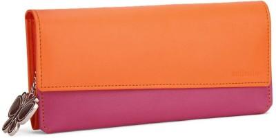 Butterflies Women Casual Orange, Pink  Clutch