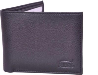 Fashion ALW Men Black Artificial Leather Wallet 5 Card Slots