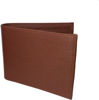 Alishaan Men Brown Genuine Leather Wallet(4 Card Slots)  available at flipkart for Rs.149