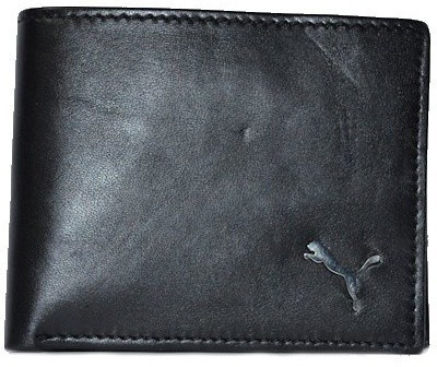 COST TO COST Men Black Artificial Leather Wallet(5 Card Slots)