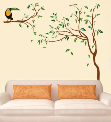 New Way Decals Wall Sticker Floral   Botanical Wallpaper 130 cm X 130 cm