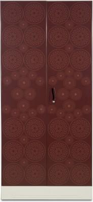 Godrej Interio Slimline 2 Door WL Metal Almirah(Finish Color - Copper brown)
