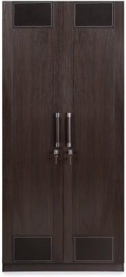 @home by Nilkamal Emirates Engineered Wood 2 Door Wardrobe(Finish Color - Brown)  available at flipkart for Rs.29900