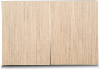 Godrej Interio Florid Pro 900W OHU Engineered Wood 2 Door Wardrobe(Finish Color - Linewood)