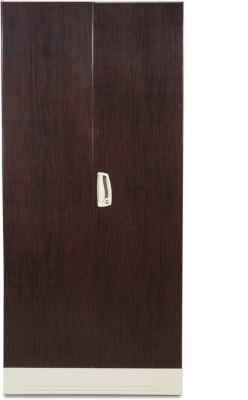 Godrej Interio Slimline 2S Metal Almirah(Finish Color - Dark Wood)