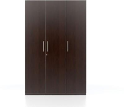 e4df6125a87 Buy Urban Ladder Domenico XL Engineered Wood 3 Door Wardrobe(Finish Color - Dark  Oak) on Flipkart