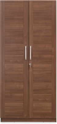 @home by Nilkamal SANSA Engineered Wood 2 Door Wardrobe(Finish Color - Brown)  available at flipkart for Rs.21900