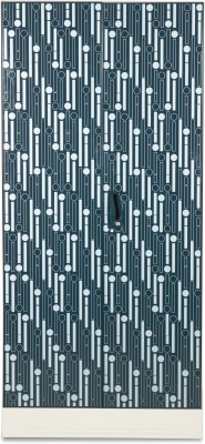 Godrej Interio Slimline 4S Metal Almirah(Finish Color - Metallic Blue)
