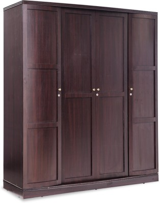 Durian VIENNA/A/WD Engineered Wood 4 Door Wardrobe(Finish Color - Smoke Oak)