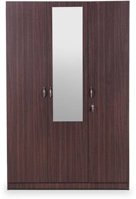HomeTown Allen Engineered Wood 3 Door Almirah
