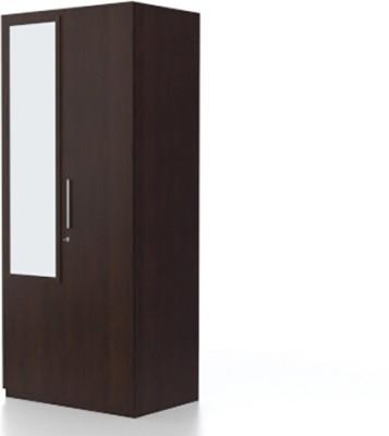 9fe222b8da4 Buy Urban Ladder Domenico XL Engineered Wood 2 Door Wardrobe(Finish Color - Dark  Oak