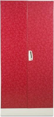 Godrej Interio Slimline WL Metal Almirah(Finish Color - Red)