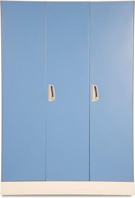Godrej Interio Slimline WL Metal Almirah(Finish Color - Textured Ultra Blue)
