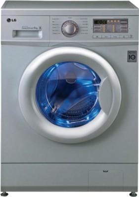 LG F10B8NDL25 6 Kg Fully Automatic Front Load Washing Machine Luxury Silver