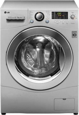 LG 6 kg Fully Automatic Front Load Washer with Dryer(F12A8CDP2)