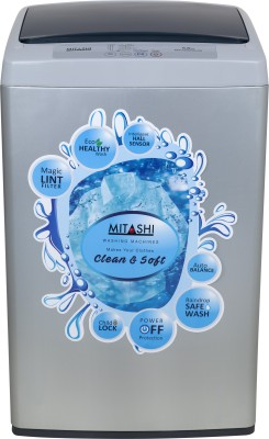 Mitashi 5.8 kg Fully Automatic Top Load Washing Machine Grey(MiFAWM58v20) (Mitashi)  Buy Online
