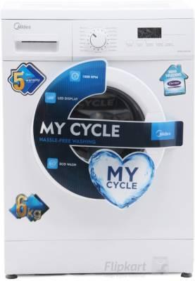 Carrier Midea MWMFL060GHN 6 Kg Fully Automatic Washing Machine Image