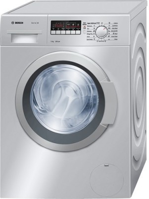 Bosch 7 kg Fully Automatic Front Load Washing Machine Silver(24268in)