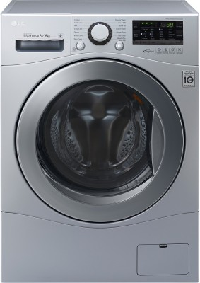LG 8 kg Fully Automatic Front Load Washer with Dryer(F14A8YD25)