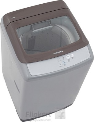 Samsung 6.2Kg Fully Automatic Top Load Washing Machine ImperialSilver (WA62H4100HD, Imperial Silver)