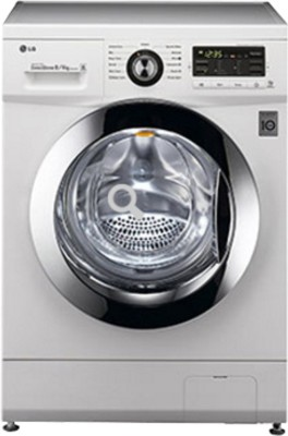LG 8 kg Fully Automatic Front Load Washer with Dryer(F1296ADP23)