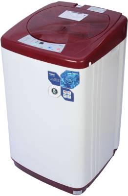 Haier 5.8 kg Fully Automatic Top Load Washing Machine Red