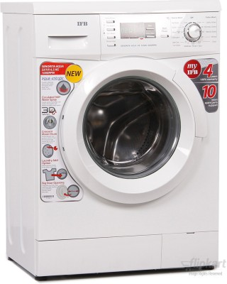 IFB 6.5Kg Senorita Fully Automatic Front Load Washing Machine White (Senorita Aqua VX - 6.5, White)