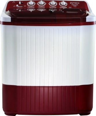 Intex 7.2 kg Semi Automatic Top Load Washing Machine Red(WM SA72DR-CVP) (Intex)  Buy Online