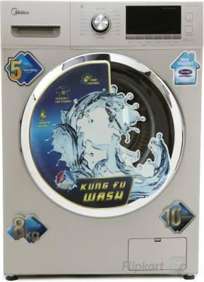 Midea MWMFL080CDR 8 kg Fully Automatic Washing Machine Image