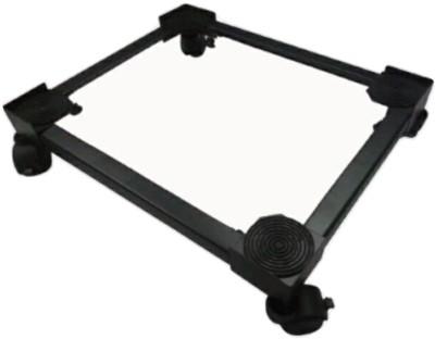A.P. Furniture BLACK POWDER METAL TROLLEY FOR REFRIGERATORS Washing Machine Trolley