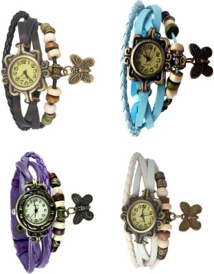 VALENTIME Fabulous Fashion Design Elegant Navratri Offer Ladies Stylish7 Beautiful Awesome Best Super Selling Combo Watch  - For Women