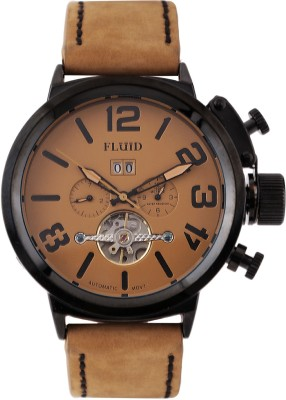 Fluid FL158-TN-BK Luxury Chronograph Watch For Men