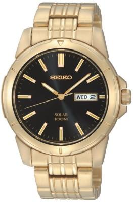 Seiko Solar Functional Men's Watch, SNE100
