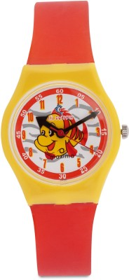 Maxima 04430PPKW Fiber Analog Watch For Kids