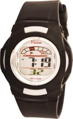 Vizion 8522-5BLACK Cold Light Digital Watch For Boys