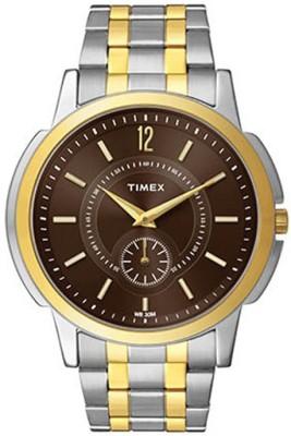 Timex Empera Analog Brown Dial Men's Watch, TW000U307